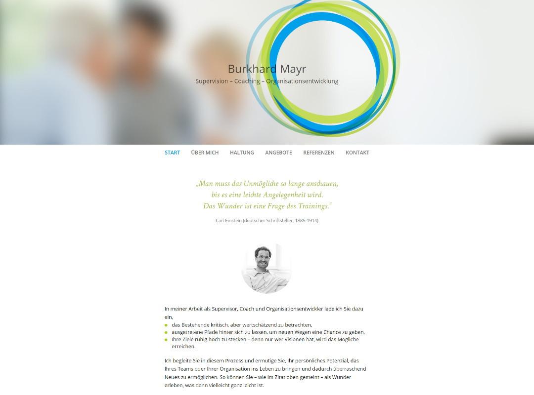 Startseite Burkhard Mayer