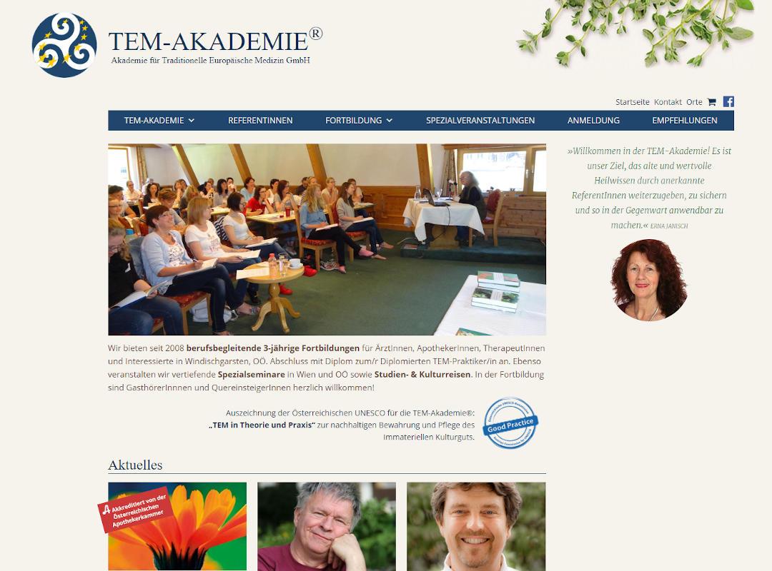 Startseite tem-akademie.com